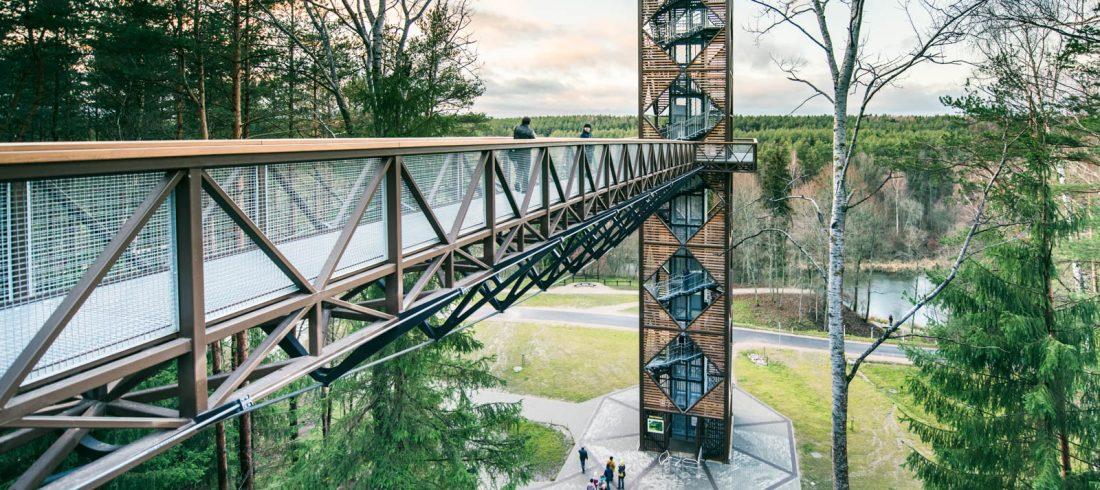 treetop walking path anyksciai tour