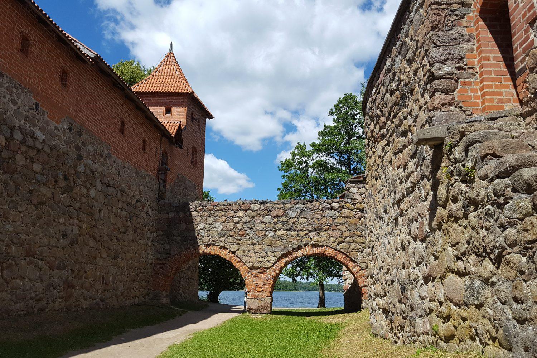 Trakai Castle and Paneriai Memorial Park tour